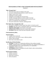 Managerial Ethics Handout 1