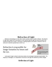 School - NT1310 - Unit 7 Assignment 1 - Reflection, Refraction and Optics