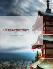 environmental problem upload
