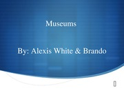 Museums Project