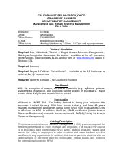 MGMT 304 Syllabus UPDATED F2014.doc