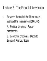 Lecture 7 French Intervention.ppt