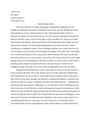 macbeth documents course hero macbeth essay
