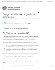 Car Fringe benefits tax - Guide .pdf