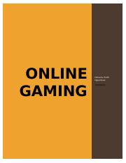 ONLINE GAMING.docx