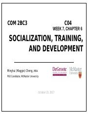 W7L1 Socialization & Training.pptx