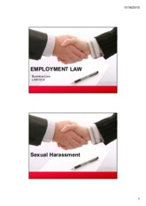 Employment Law (sexual harassment).pdf