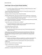 Nervous System Disorders Worksheet.docx