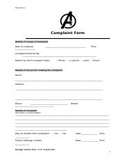 Assessment-Task 2-Complaint Form.doc