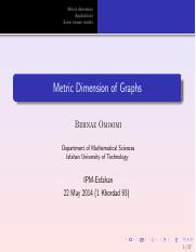 metric dimension graph.pdf