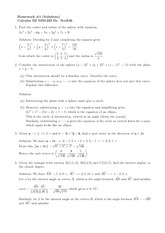 Homework A Solutions on Calculus