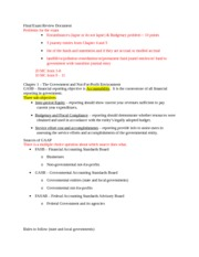 Review Document (chapter 1-8)