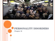Personality Disorders 09