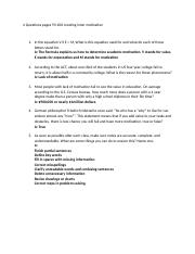 4 Questions pages 93