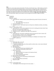 JST 250 Essay 2 Notes