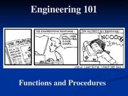 03 - Functions and Procedures