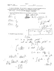 Fall 2012 Quiz 3 Solution