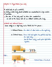 chapter 3 Rigid Bodies (3.1-3.8]