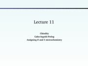 Lecture 11- Chirality