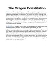 The Oregon Constitution.docx