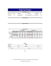 Mary Kay's Inventory Interlink Database Project Cost Summary.xls