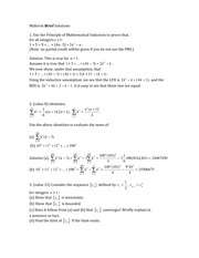 Midterm Brief Solutions