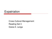 3 Expatriation