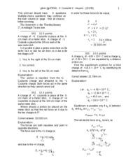 Coulomb 2-solutions