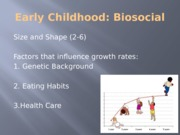 Early Childhood Biosocial posted