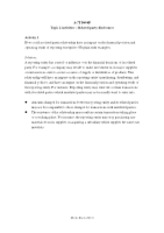 B408F Topic 2 activity -Related party disclosures (2012)