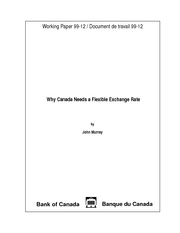 2. Why Canada Needs a Flexible Exchange Rate