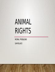 Lect #5 Animal Rights.pptx