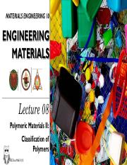 2nd Ed MatE 10 Lecture 8- Polymeric Materials II.pdf