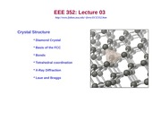 03 Crystal Structure