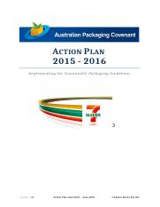7-Eleven APC Action Plan - Update Final