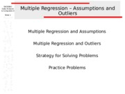 MultipleRegression_AssumptionsAndOUtliers.ppt