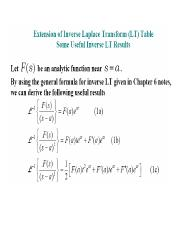 Extension of Laplace Inversion and APP to Coupled DE