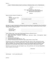 183707 324923 Form Kjmu Doc Form 1 Surat Permohonan Bantuan Biaya Peningkatan Mutu Pendidikan Jakarta U2026 U2026 U2026 U2026 U2026 Kepada Yth Gubernur Provinsi Dki Course Hero