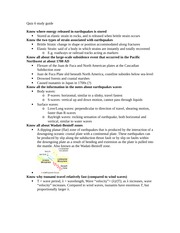 Quiz 6 study guide