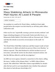 Mass Stabbing Attack In Minnesota Mall Injures At Least 8 People _ The Two-Way _ NPR.pdf