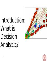 CEE 5980 Lec 1 Introduction What is Decision Analysis (Instructor&Student).ppt