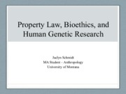 JSchmidt_Property_Law_and_Human_Genetics_Research_.pdf