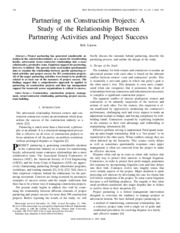 Project_Partnering_Construction_Larson_IEEE_Engg_Mgt_1997