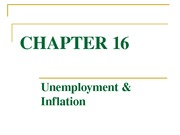 chapter 16 unemployment and inflaton