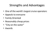 Strengths and Advantages Presentation