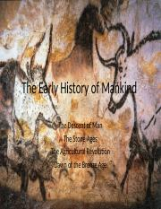 Lecture 1-The Early History of Mankind.pptx