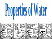 Properties_water