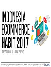 PDF Report Indonesia Ecommerce Habit 2017 10744.pdf