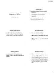 Language and Culture - Chapter 7 - student version