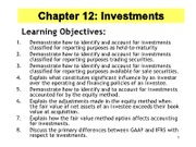 Ch 12 Investments PPT